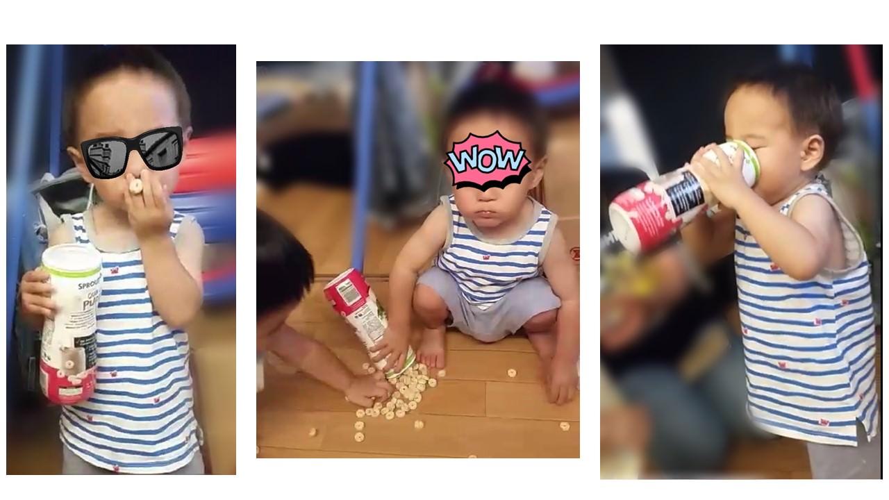グルテンフリーの赤ちゃんスナック